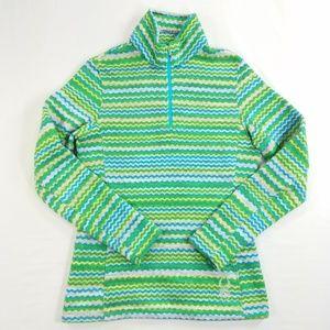 Spyder Knit Pullover 1/4 1/3 Zip Sweater Coat